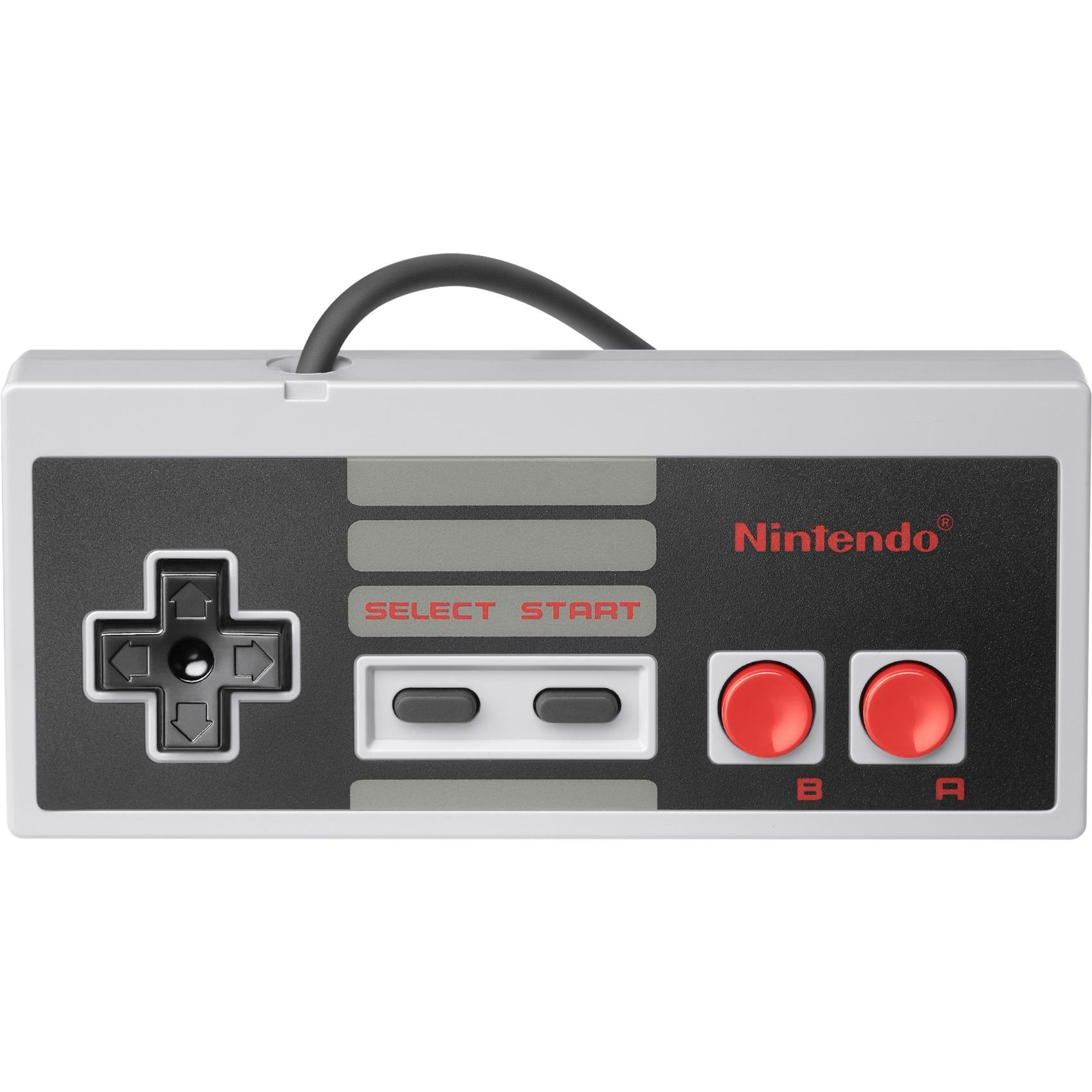 2410066 Gamepad Nintendo Wii U,Wii Negro, Gris mando y volante