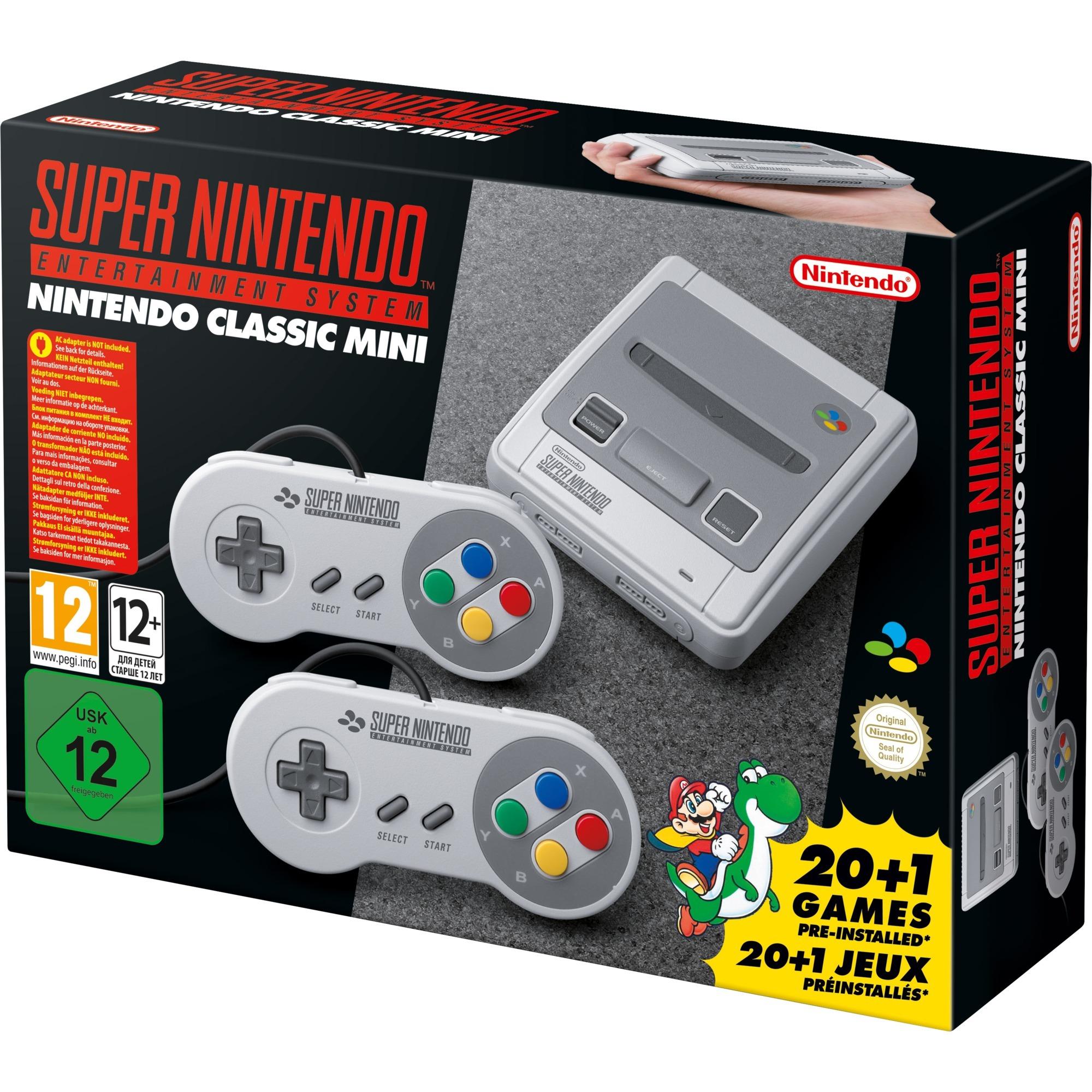 Classic Mini: Super Entertainment System Gris, Videoconsola