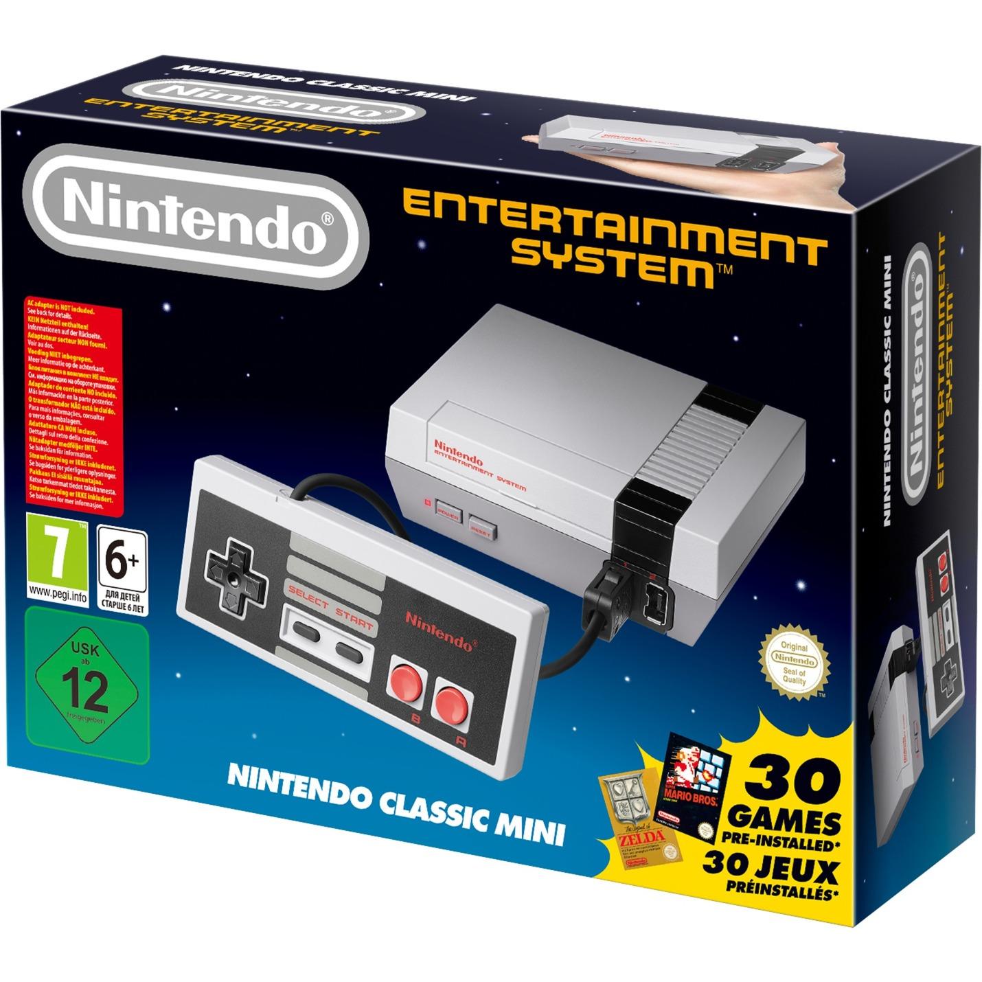 NES Classic Gris, Videoconsola