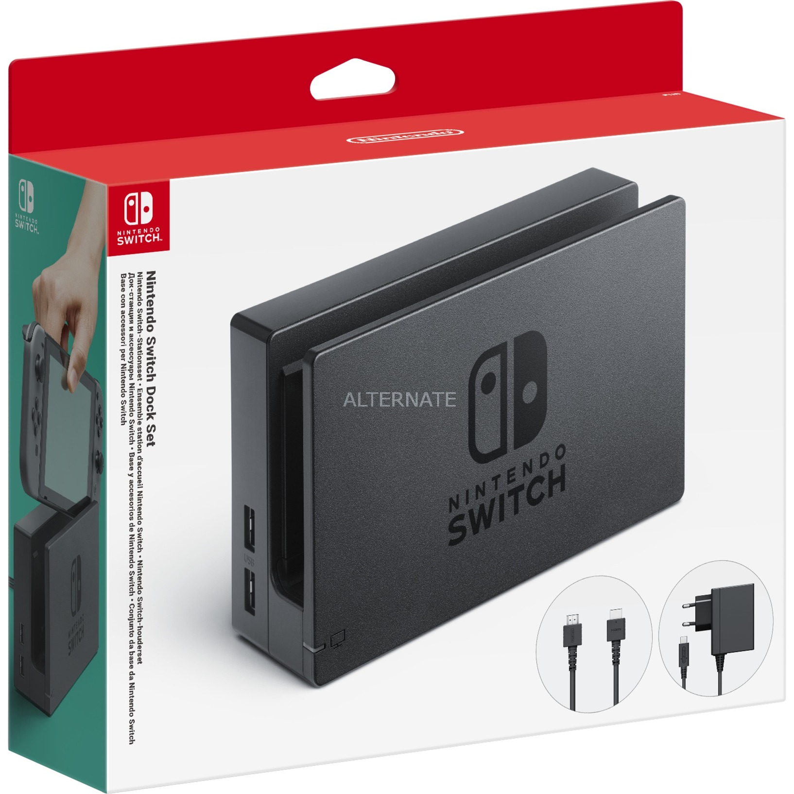 Switch Dock Set Charging system, Cargador