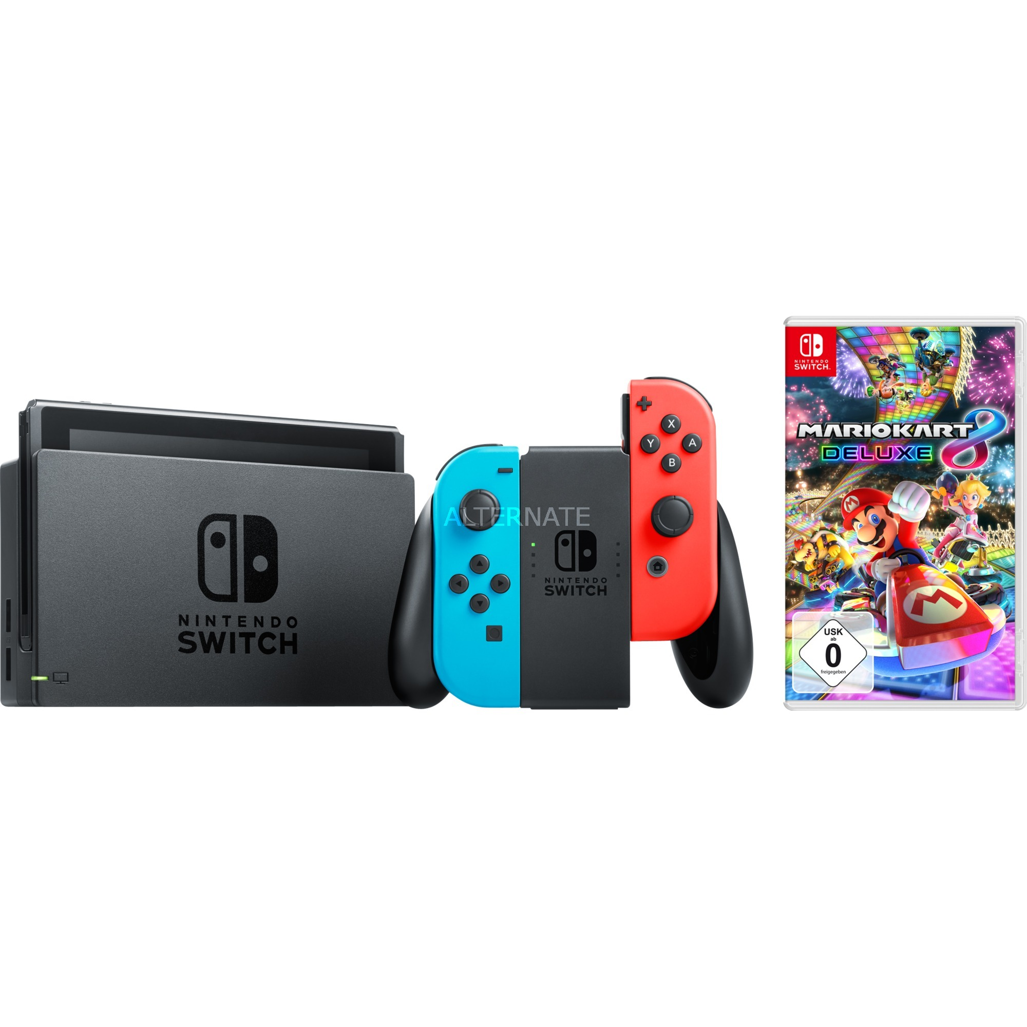 Switch + Mario Kart 8, Videoconsola