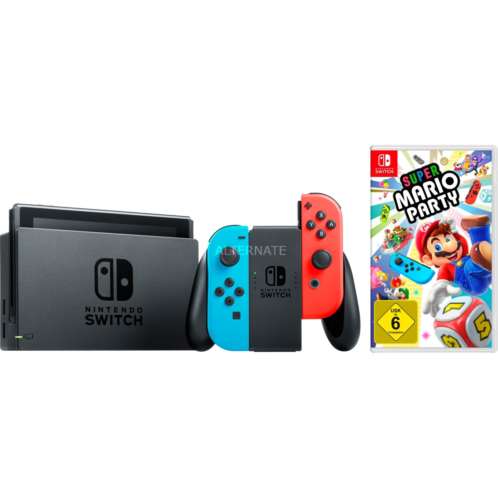 Switch + Super Mario Party, Videoconsola