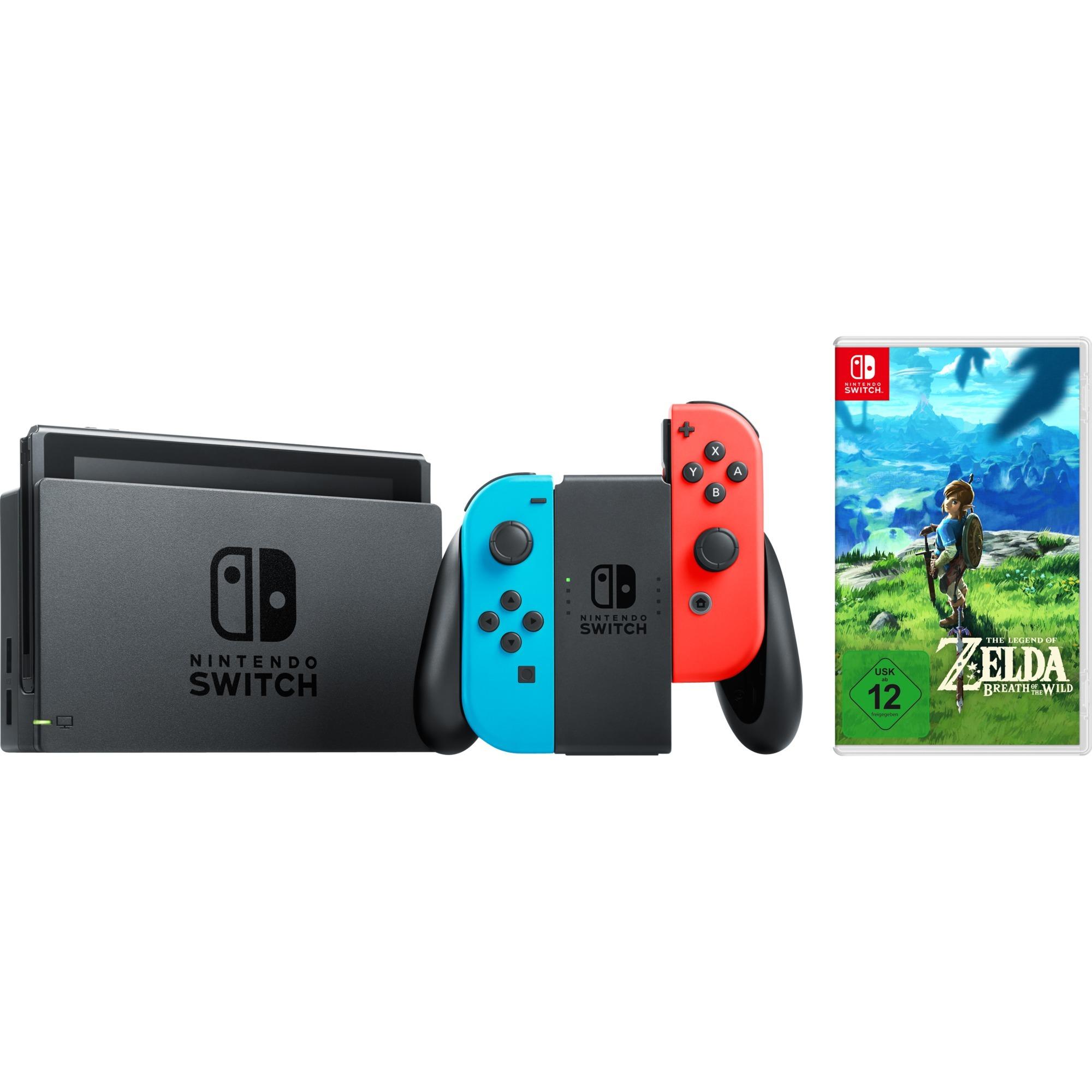 Switch + Zelda Breath of the Wild, Videoconsola