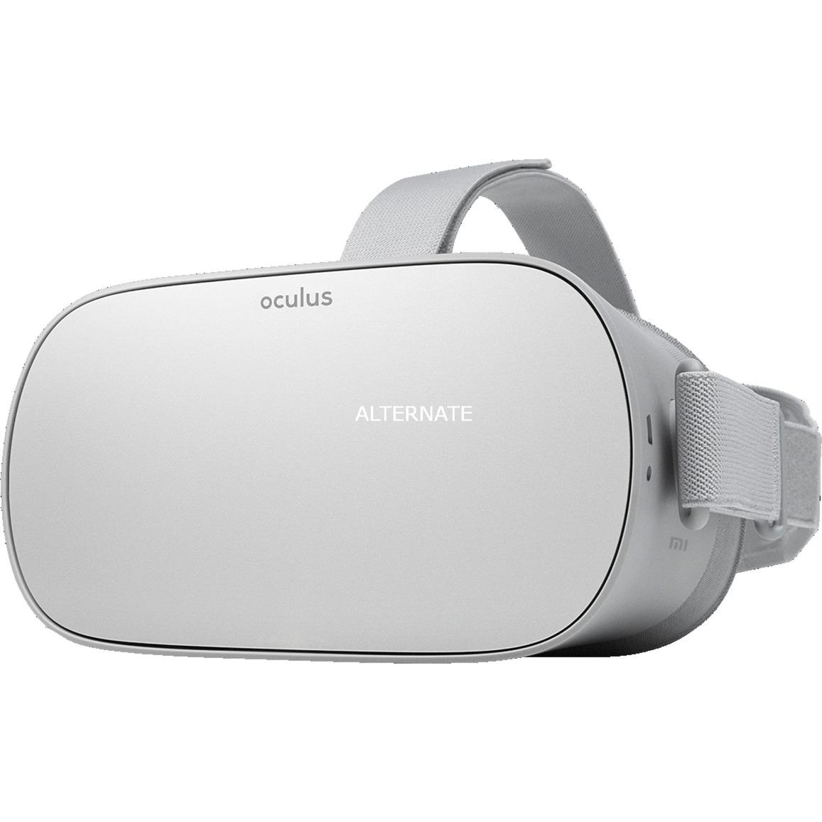 Go Pantalla con montura para sujetar en la cabeza Blanco, Gafas de Realidad Virtual (VR)
