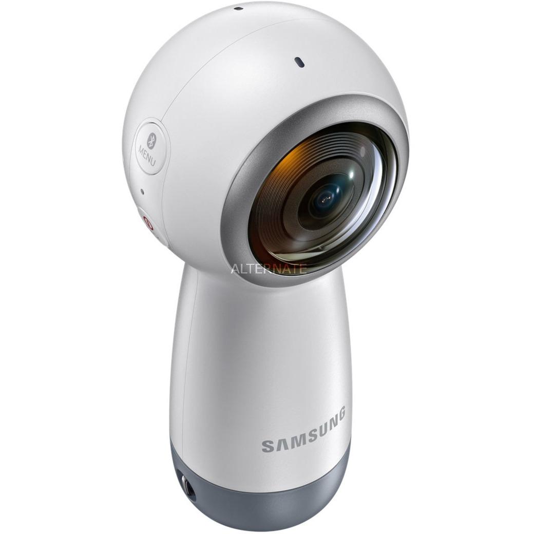 Gear 360 (2017) cámara para deporte de acción 4K Ultra HD CMOS 15 MP Wifi 130 g, Cámara de vídeo