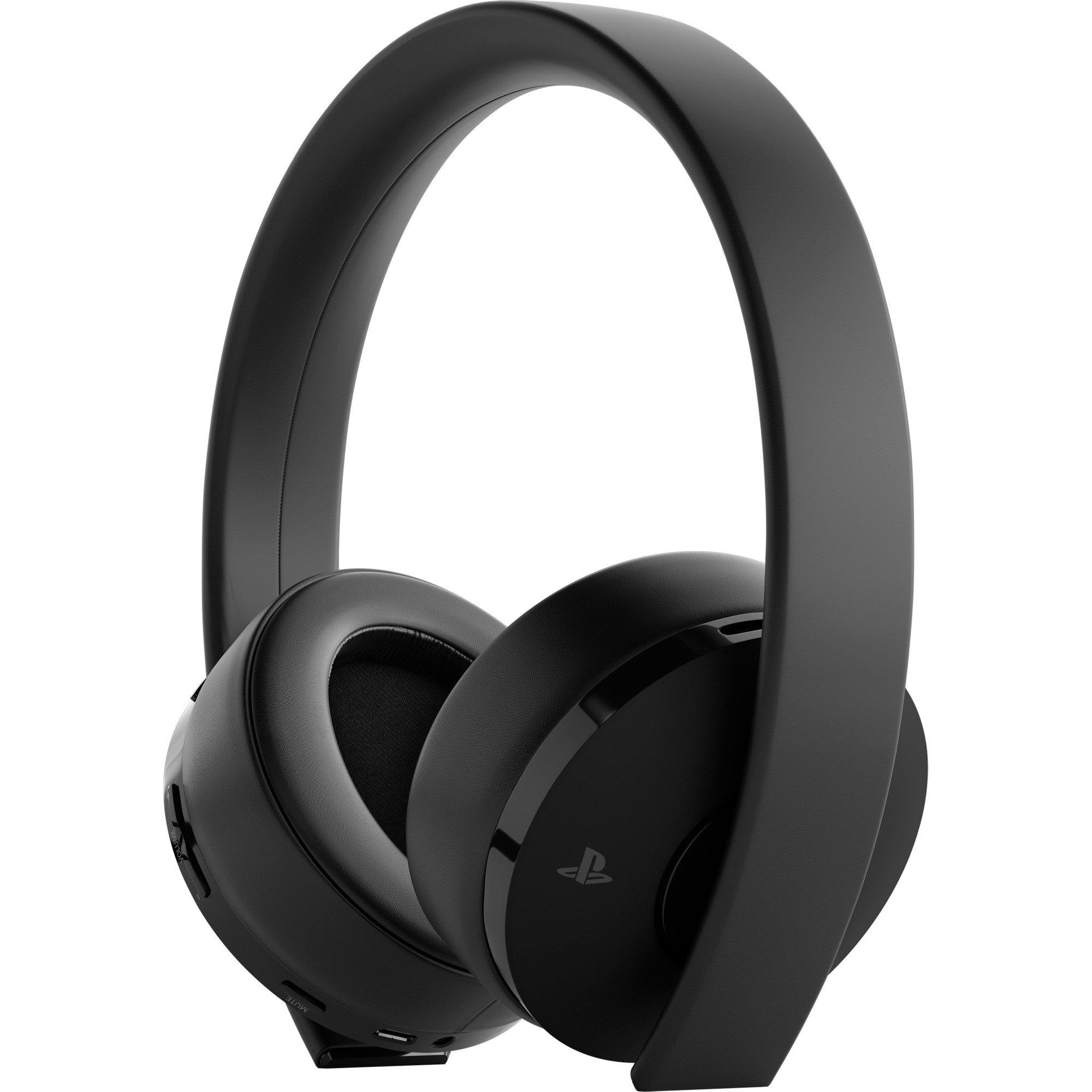9455165 auricular con micrófono Binaural Diadema Negro, Auriculares con micrófono