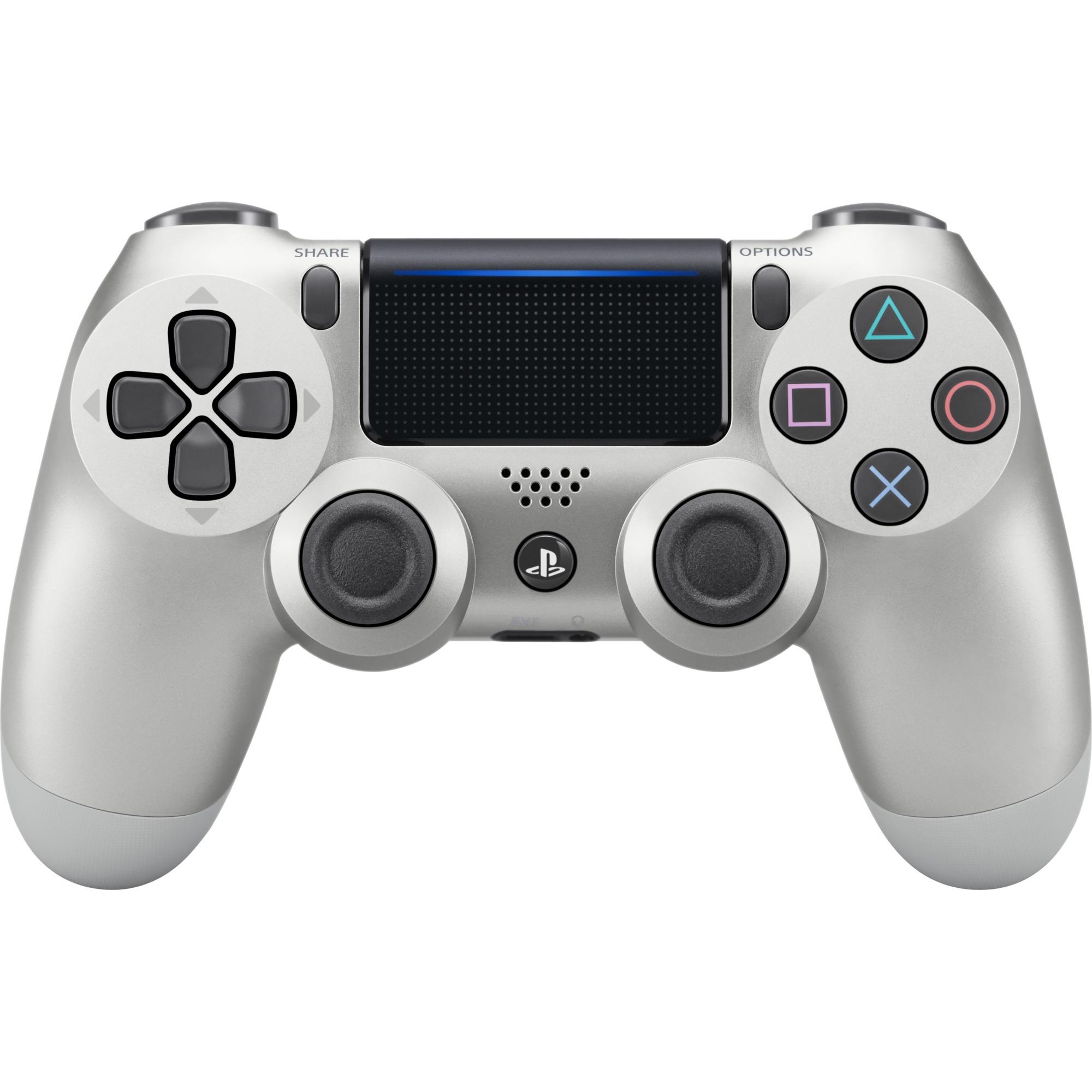 DualShock 4 Gamepad PlayStation 4 Plata