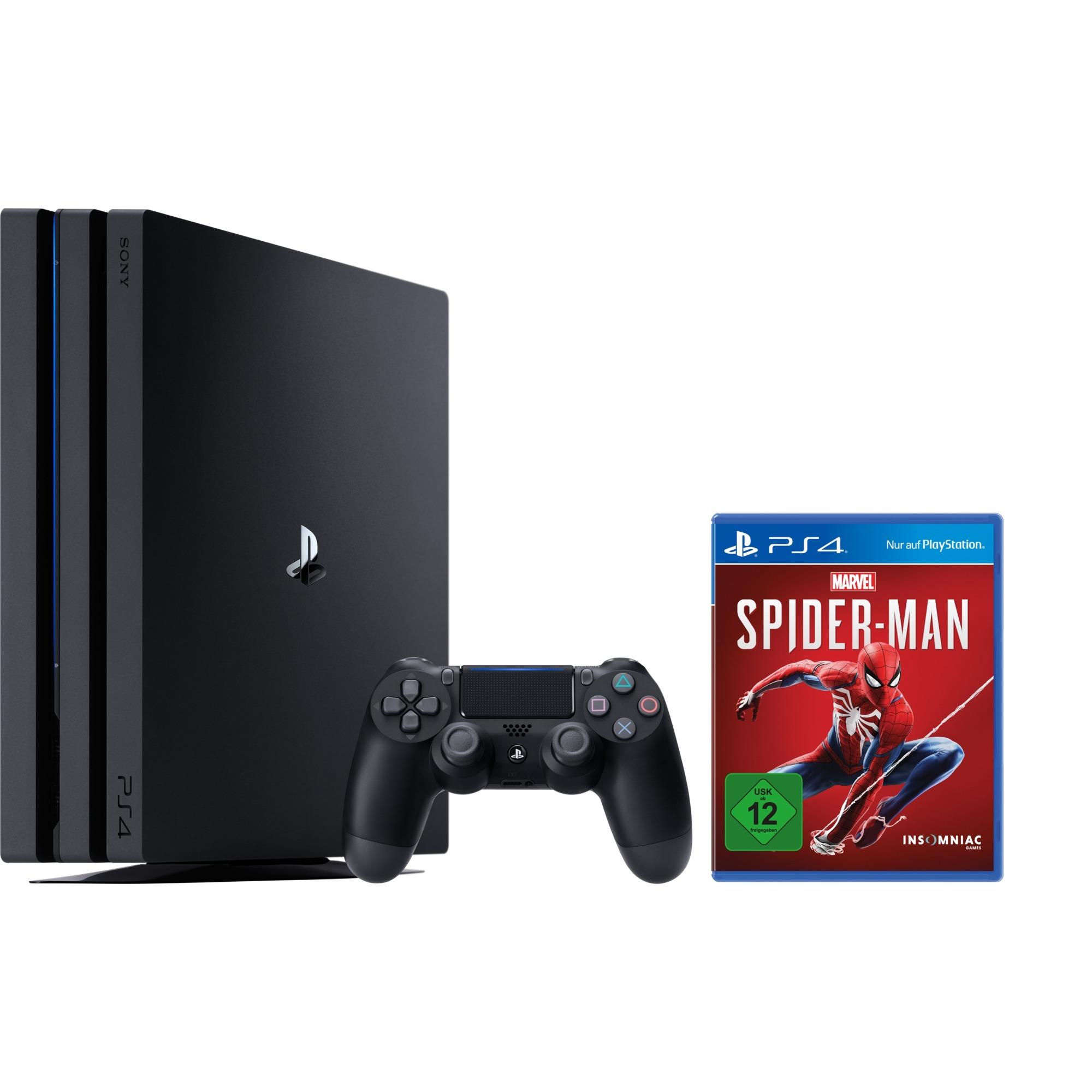 PlayStation 4 Pro 1TB + Spider-Man, Videoconsola