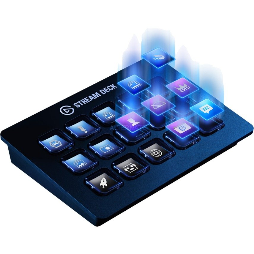 Stream Deck USB, Teclado
