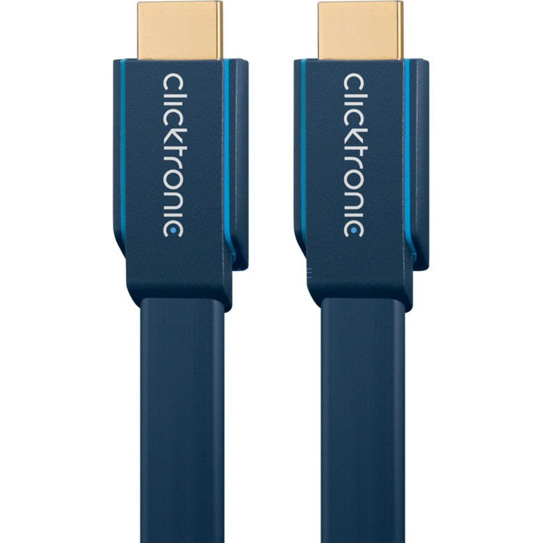 1m High Speed HDMI cable HDMI HDMI Type A (Standard) Azul