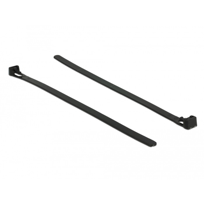 18752 presilla Releasable cable tie Nylon Negro 100 pieza(s), Atacables