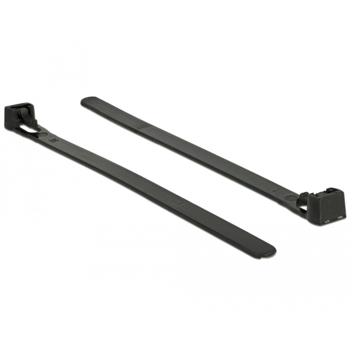 18753 presilla Releasable cable tie Nylon Negro 100 pieza(s), Atacables