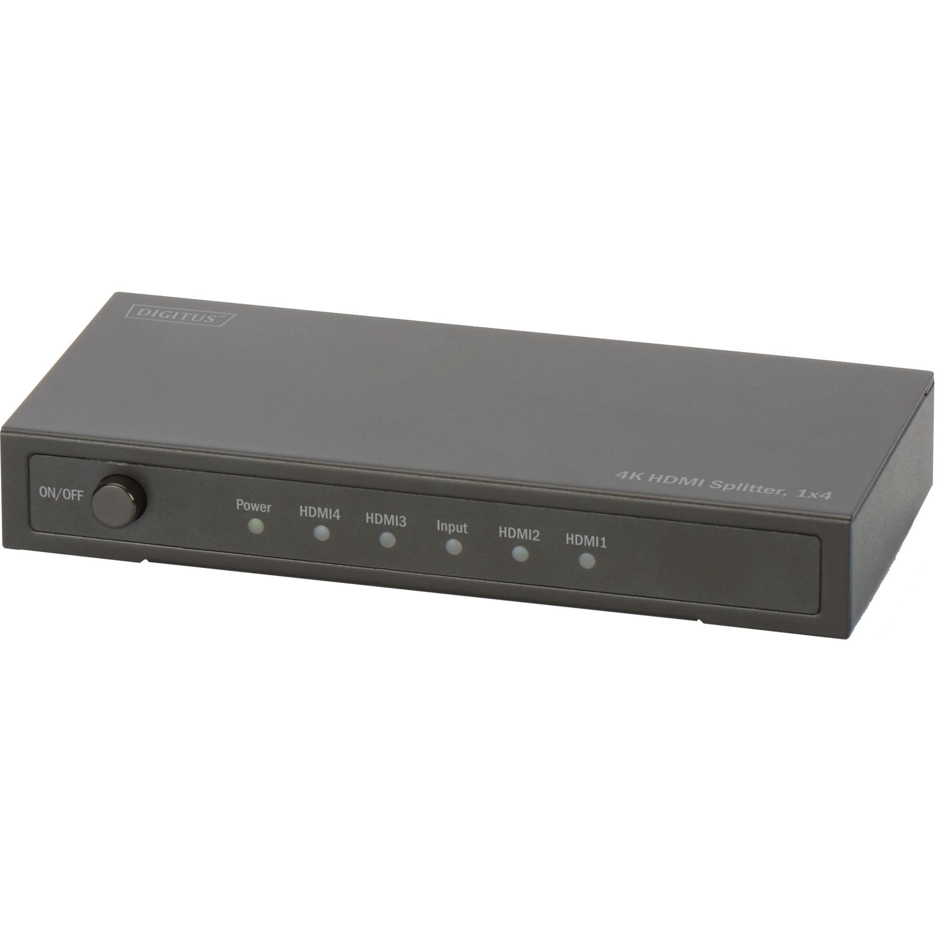 DS-47304 HDMI divisor de video, Divisores & Conmutadores
