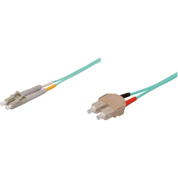 1m SC/LC cable de fibra optica OM3 Azul