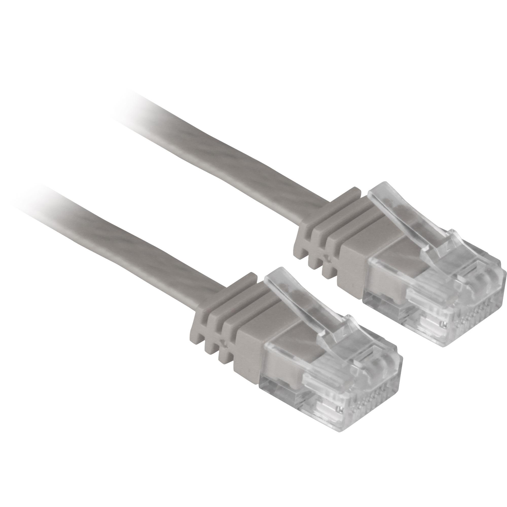 Cat.6 UTP, 7.5m 7.5m Cat6 U/UTP (UTP) Gris cable de red