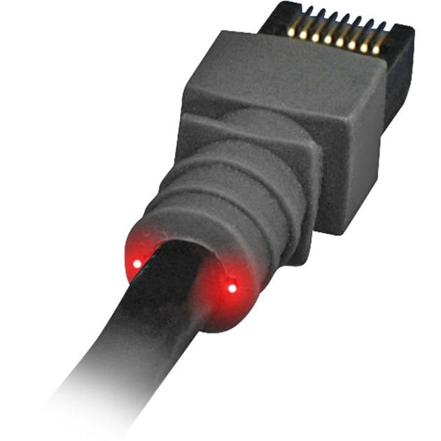 7.9m Cat6 A UTP 7.9m Negro cable de red