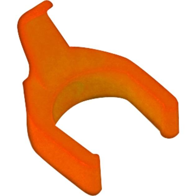 OR/PC Naranja 50pieza(s) abrazadera para cable, Clip