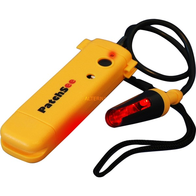 PRO Lámpara de anclaje USB Negro, Amarillo LED, Instrumento de medición