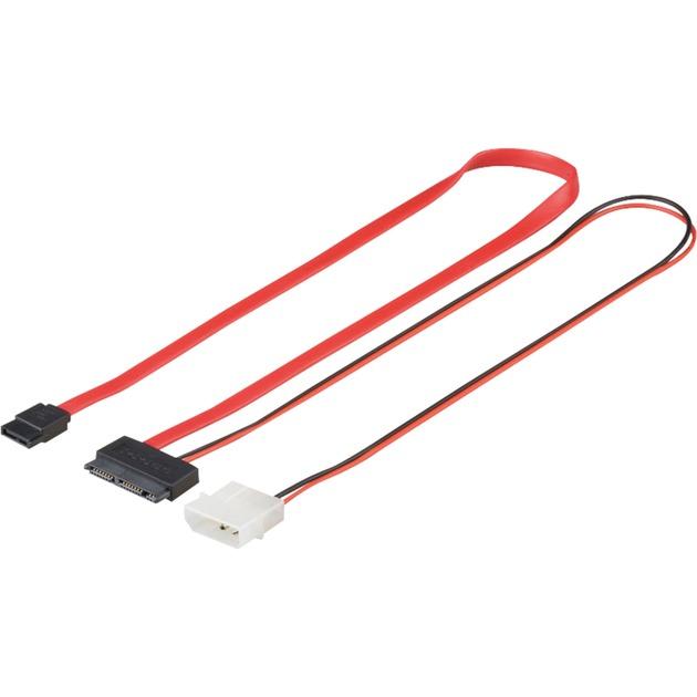 0.3m MicroSATA-300 0.3m cable de alimentación interna, Adaptador