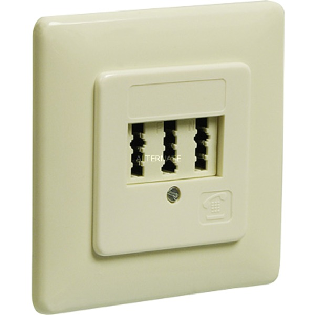 50264 Blanco caja de tomacorriente