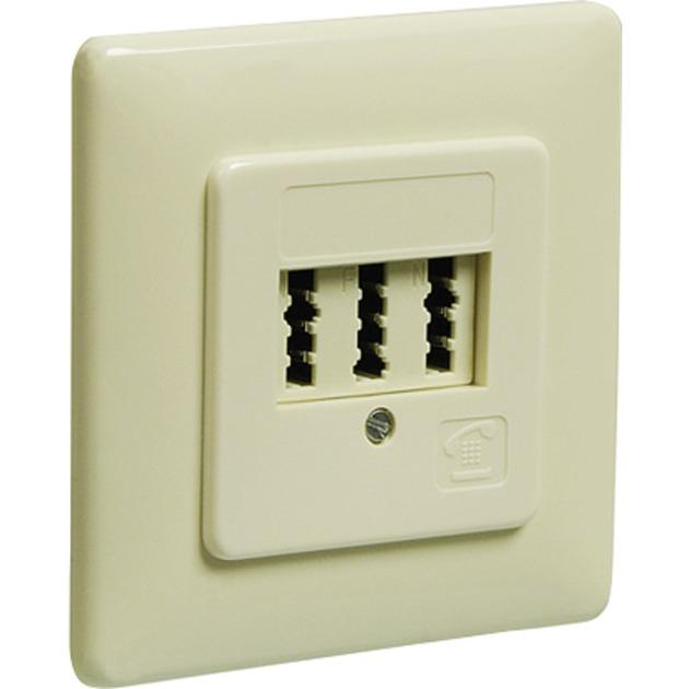 50264 caja de tomacorriente Blanco