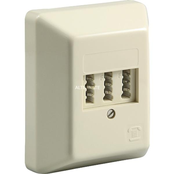 50265 Blanco caja de tomacorriente