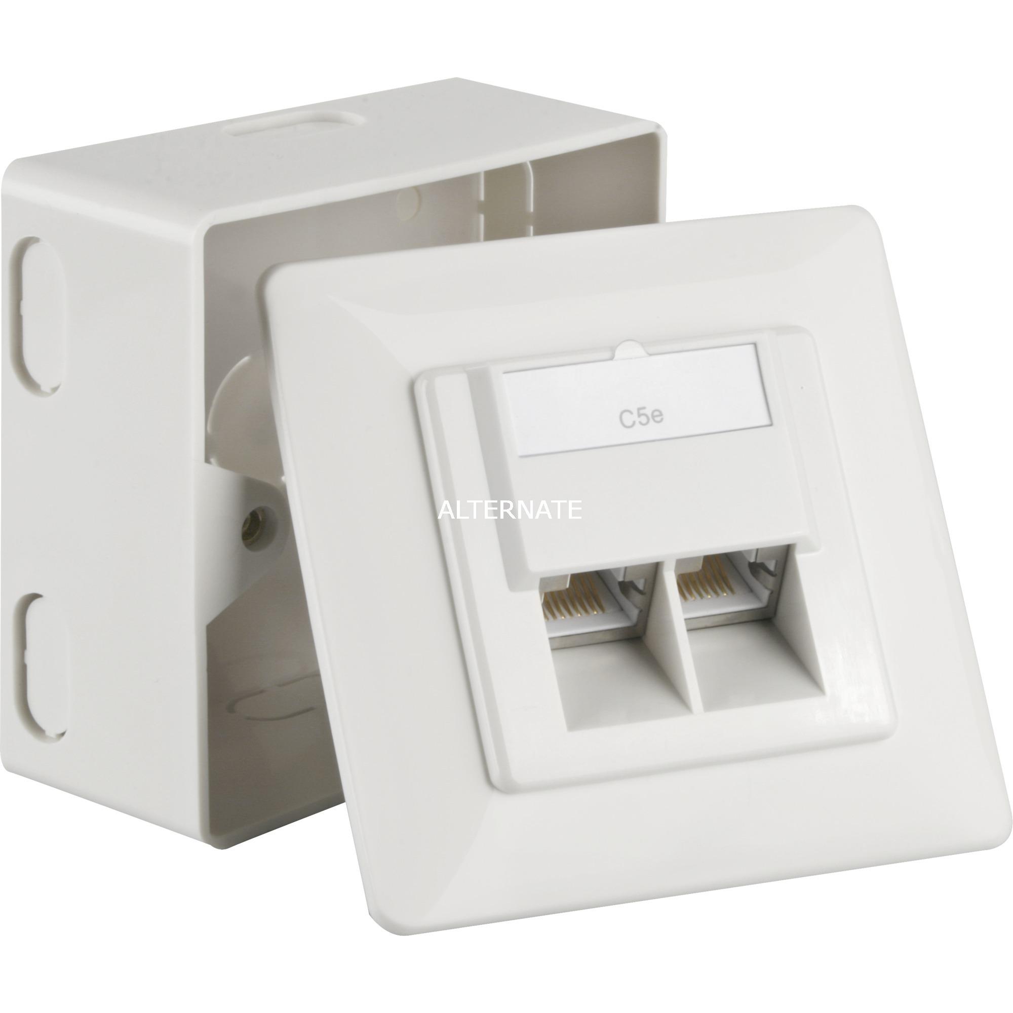 50943 soporte de pared para pantalla plana Blanco, Caja