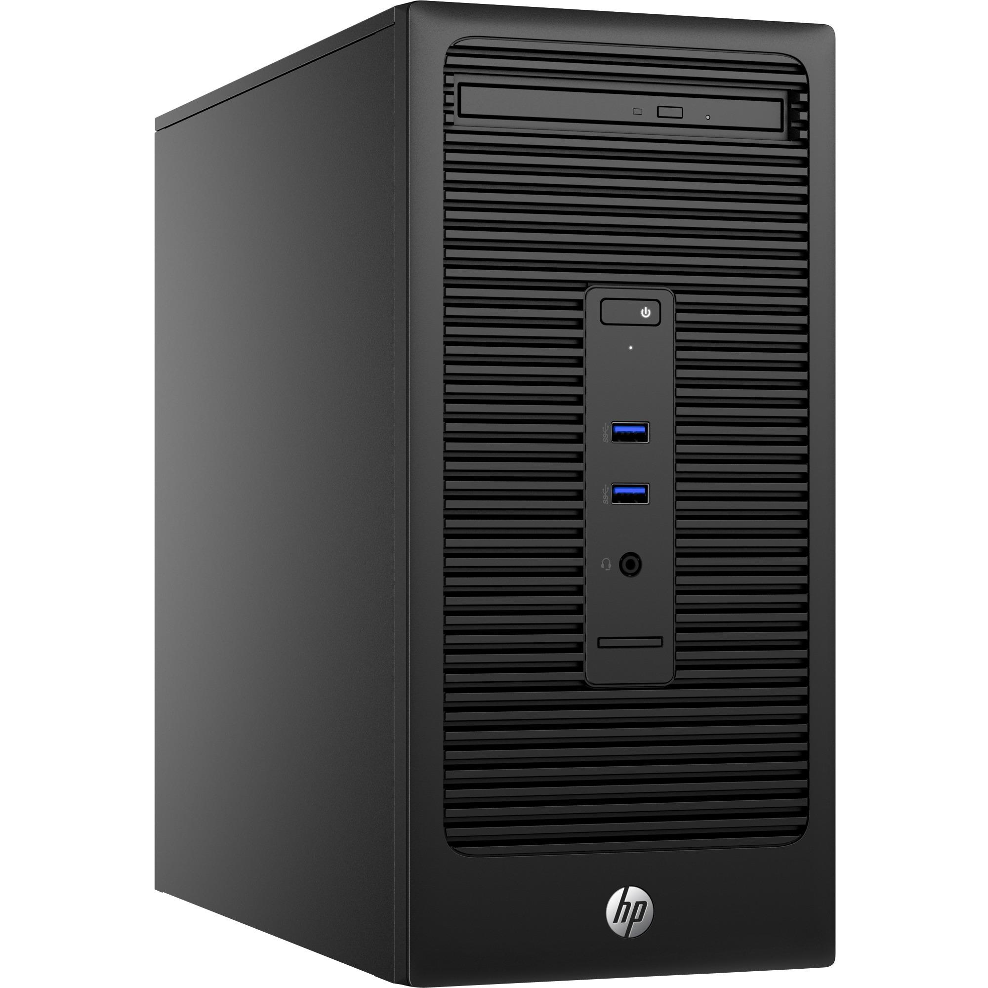 280 G2 Microtower-PC, Sistema de la PC