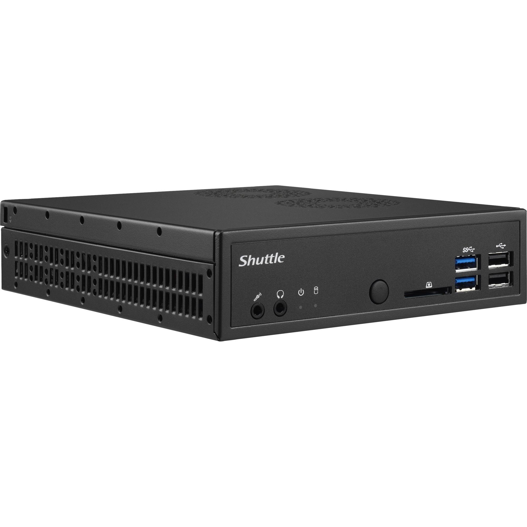 DH110SE PC/estación de trabajo barebone Intel H110 LGA 1151 (Zócalo H4) Nettop Negro