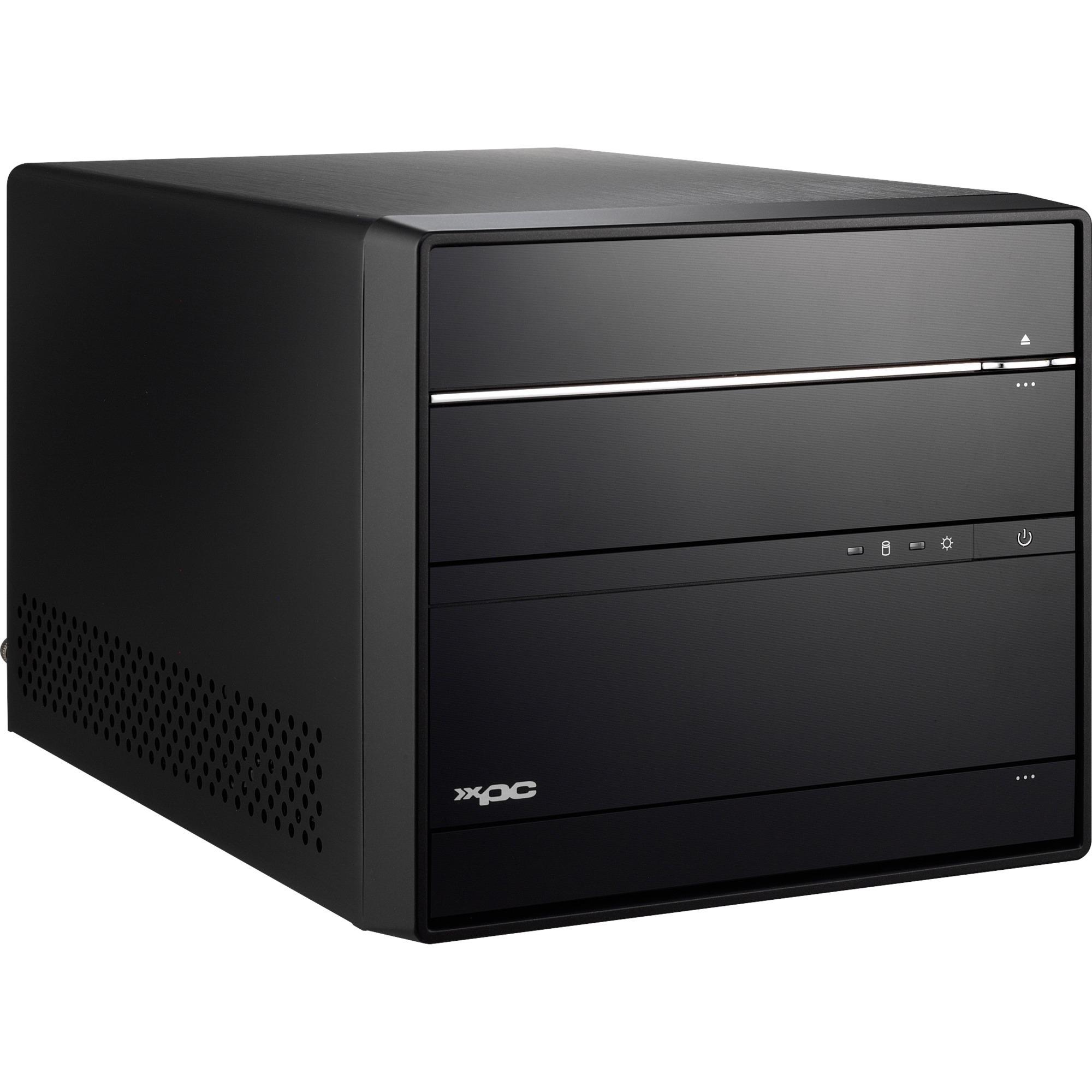 SH170R6 PC/estación de trabajo barebone Negro Intel H170 LGA 1151 (Zócalo H4)