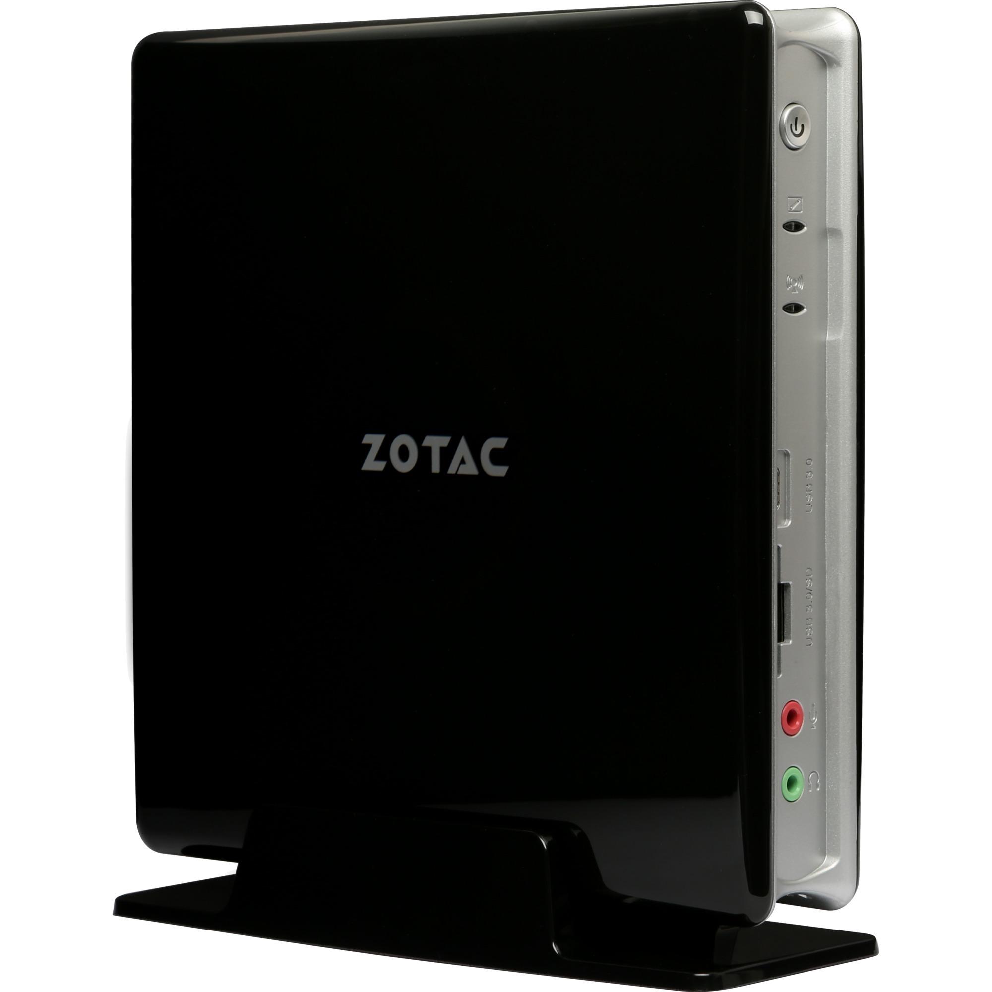 ZBOX BI324 BGA 1170 1,6 GHz N3060 USFF Negro, Barebone