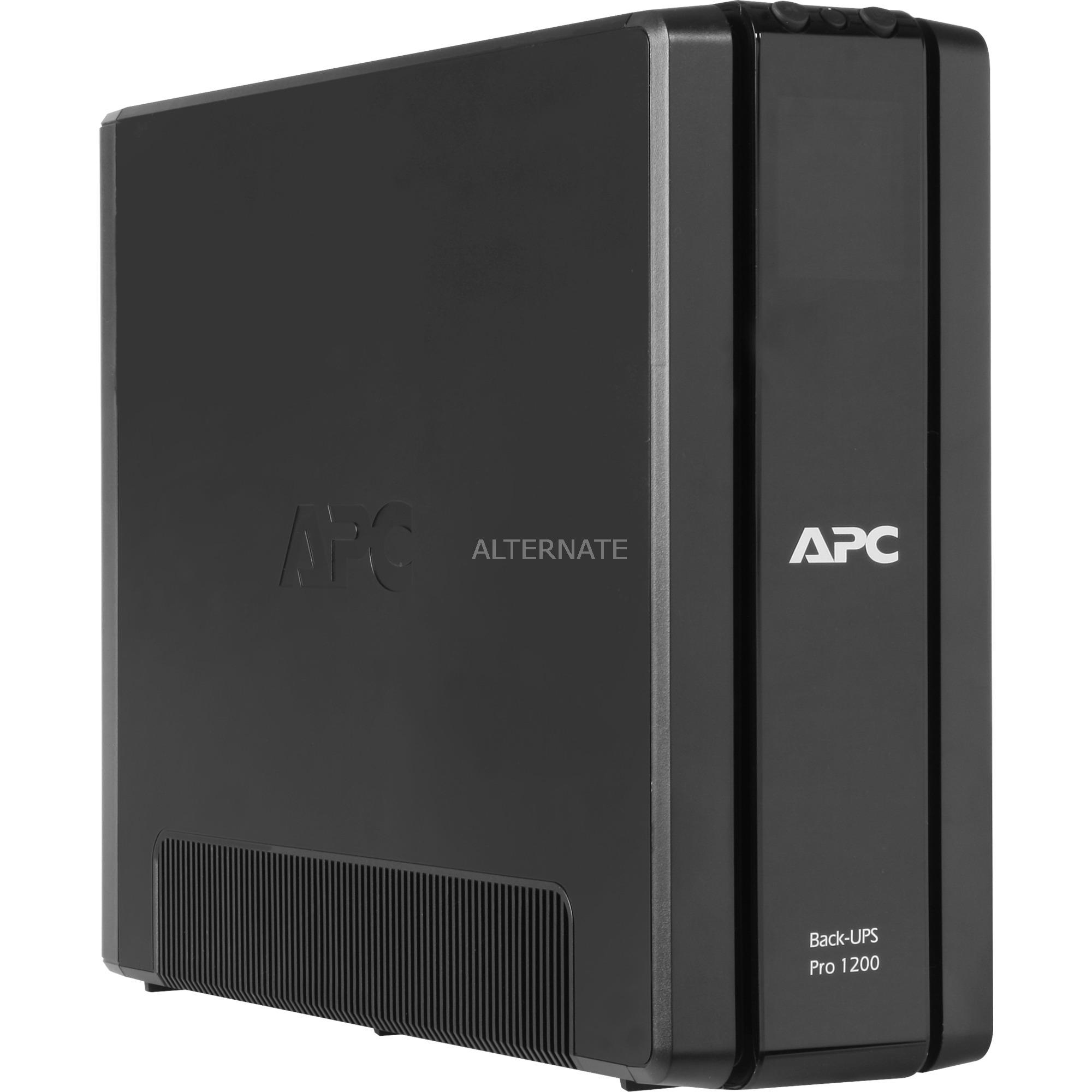 Back-UPS Pro sistema de alimentación ininterrumpida (UPS) Línea interactiva 1200 VA 720 W 10 salidas AC