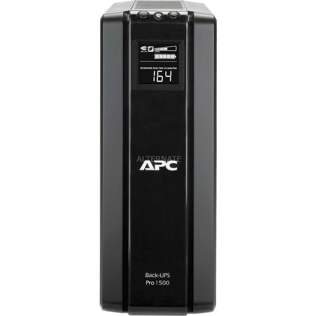 Back-UPS Pro sistema de alimentación ininterrumpida (UPS) Línea interactiva 1500 VA 865 W