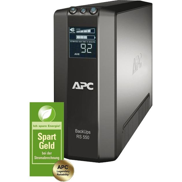 Back-UPS Pro sistema de alimentación ininterrumpida (UPS) Línea interactiva 550 VA 330 W 6 salidas AC