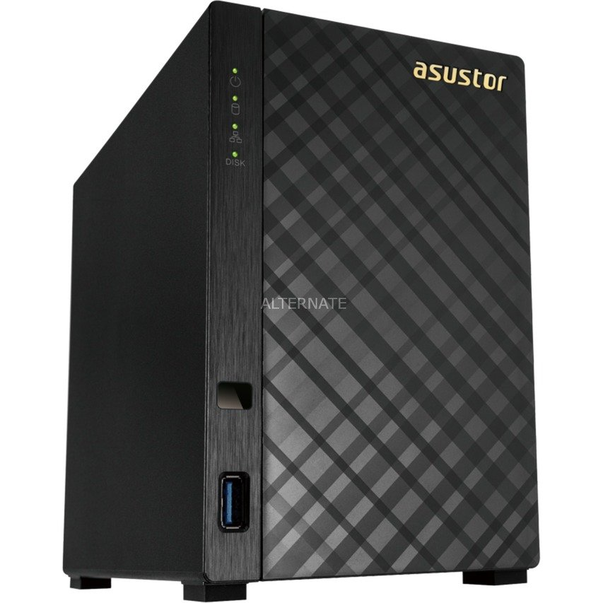 AS3102T v2 Ethernet Negro NAS