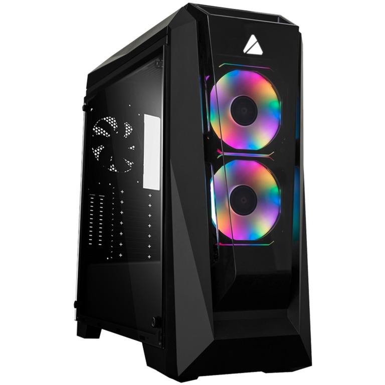 Chroma 410B Midi ATX Tower Negro, Cajas de torre