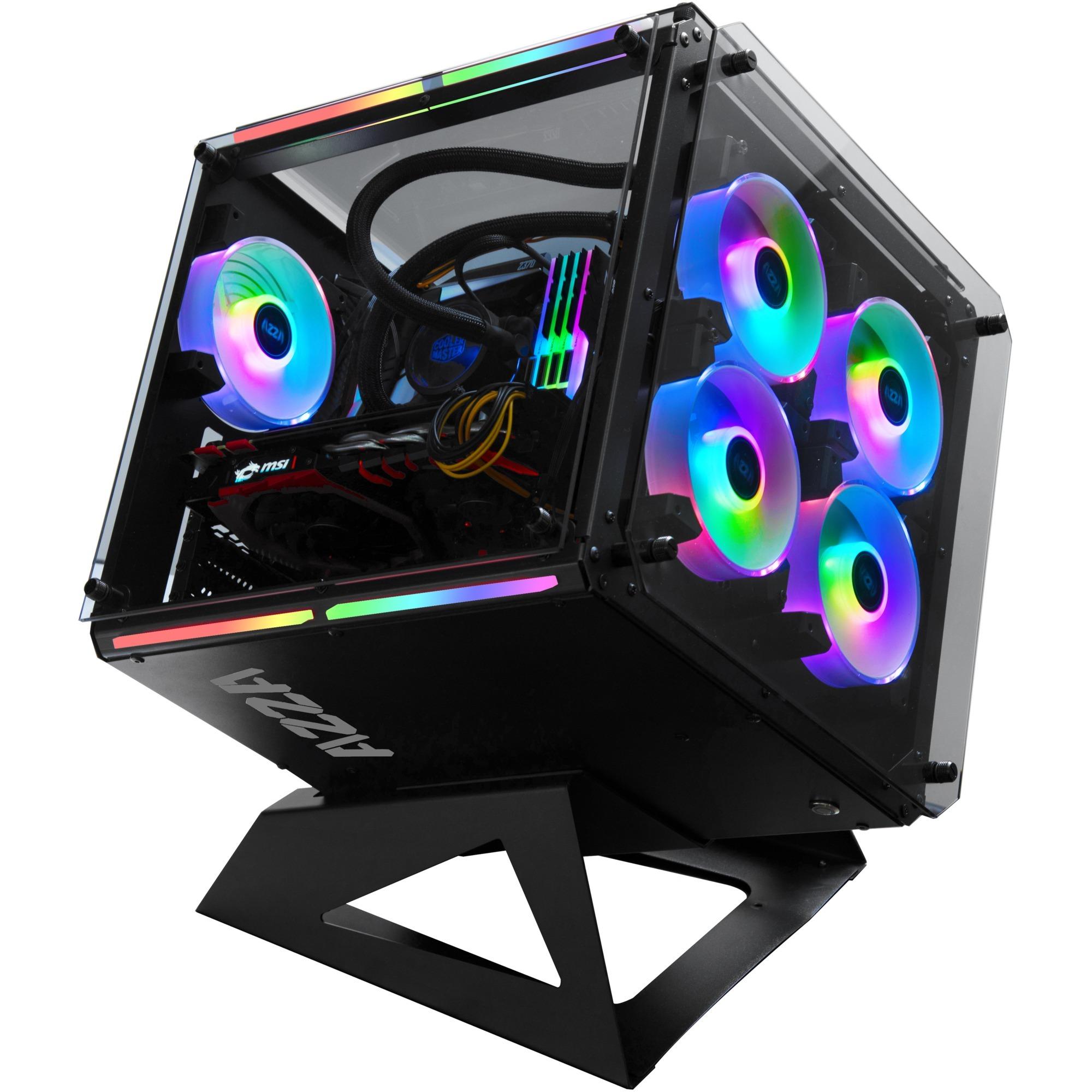 Cube 802 Full-Tower Negro, Caja cubo