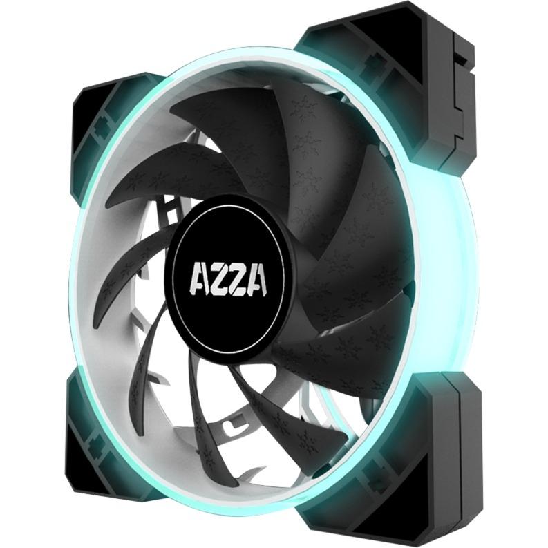 Hurricane RGB 120x120x25, Ventilador
