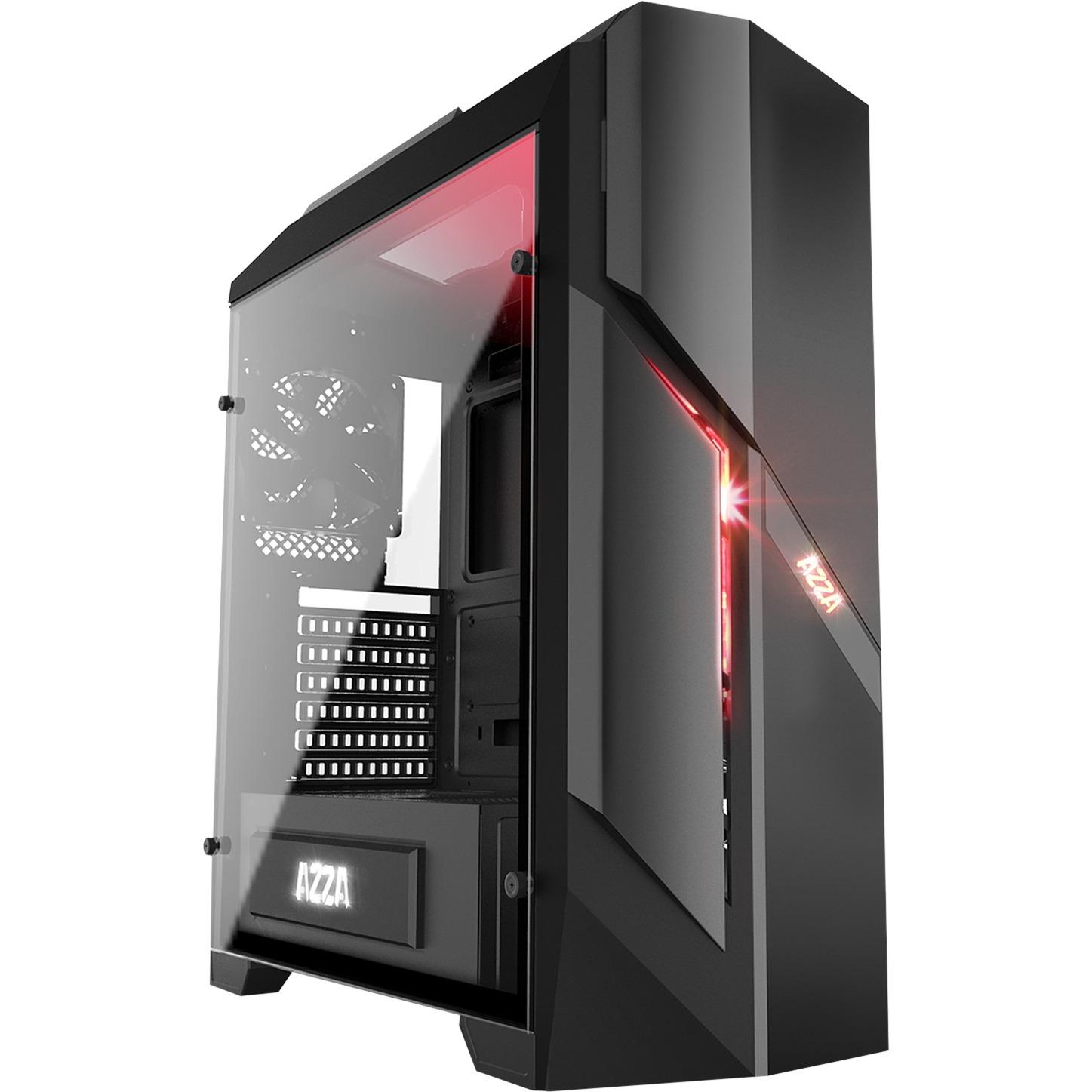 Photios250X Midi-Tower Negro carcasa de ordenador, Cajas de torre