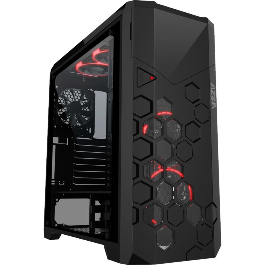 Storm 6000B Full-Tower Negro carcasa de ordenador, Caja de torre grande