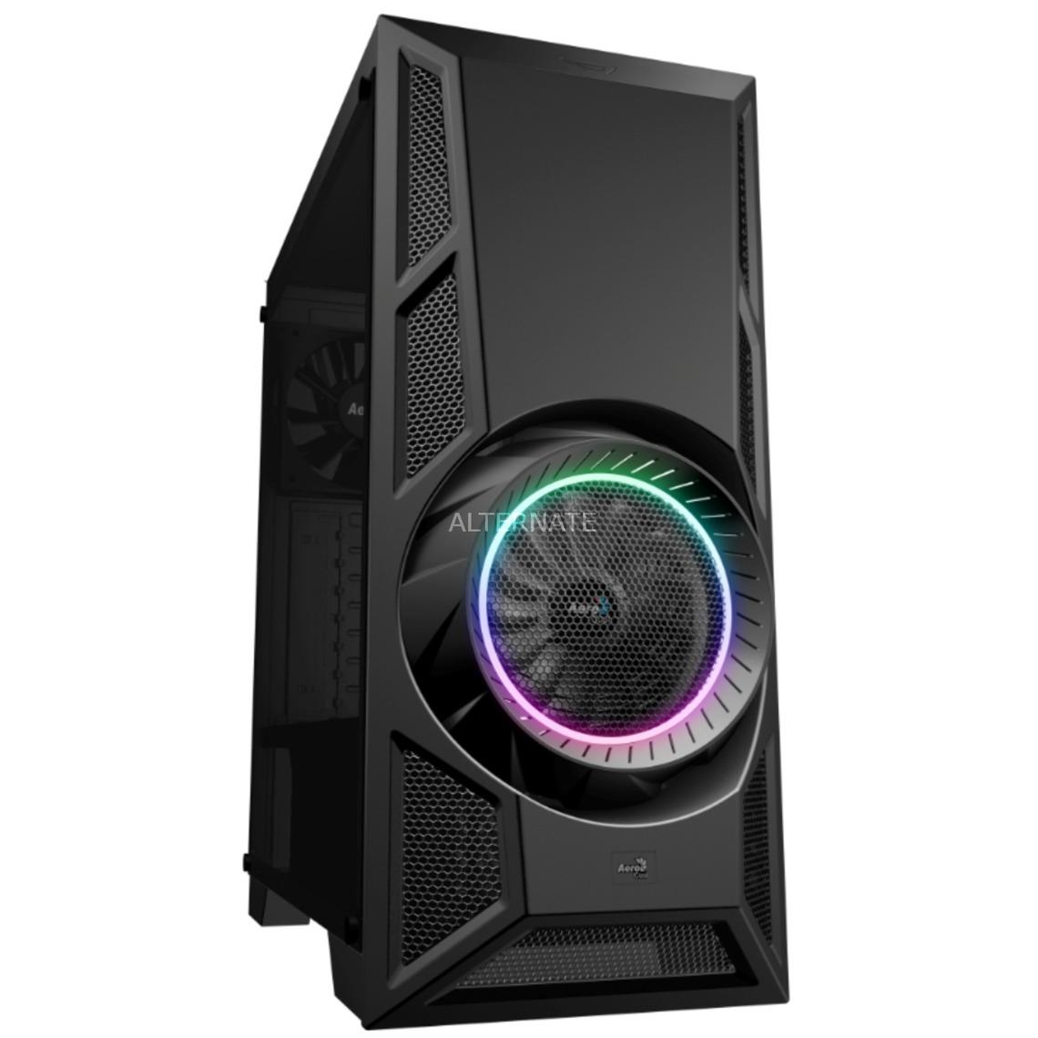 AeroEngine RGB Midi-Tower Negro, Cajas de torre
