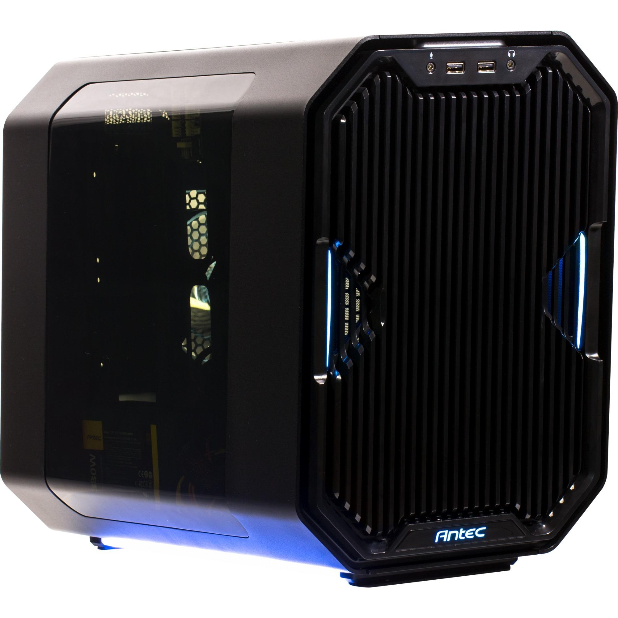 Cube Cubo Negro carcasa de ordenador, Cajas de torre