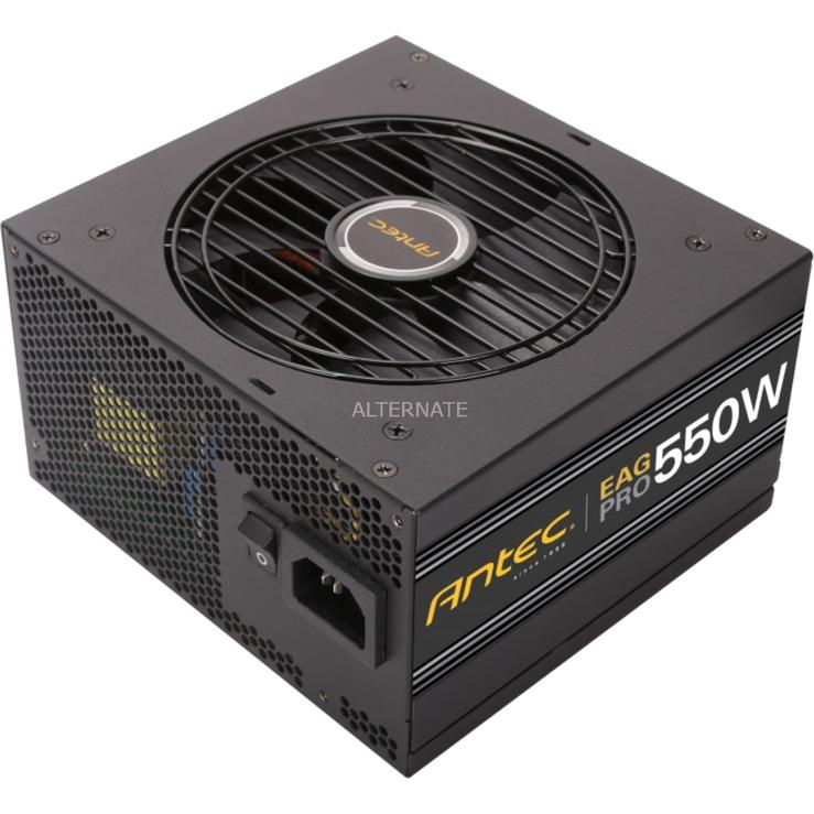 EA550G Pro-EC 550W ATX Negro unidad de fuente de alimentación, Fuente de alimentación de PC