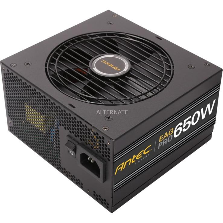 EA650G Pro-EC 650W ATX Negro unidad de fuente de alimentación, Fuente de alimentación de PC