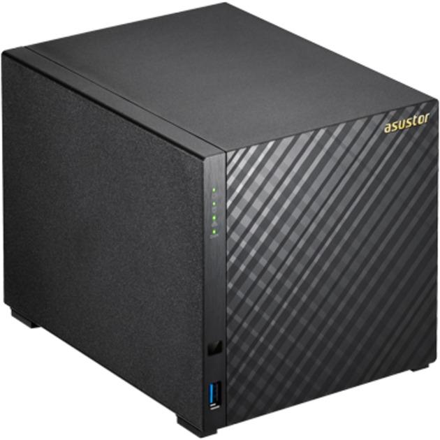 AS3104T NAS Ethernet Negro servidor de almacenamiento