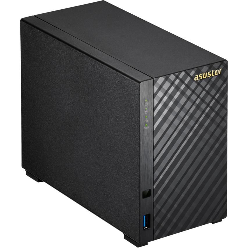 AS3202T servidor de almacenamiento Ethernet Negro NAS