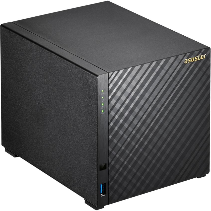 AS3204T NAS Ethernet Negro servidor de almacenamiento
