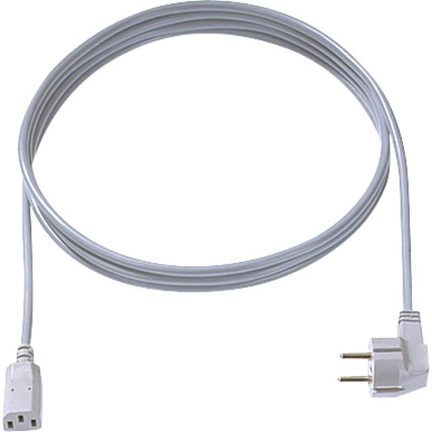 353.975 cable de transmisión Gris 3 m C13 acoplador
