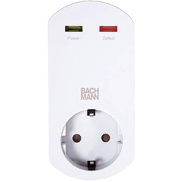 919.025 adaptador de enchufe eléctrico Blanco