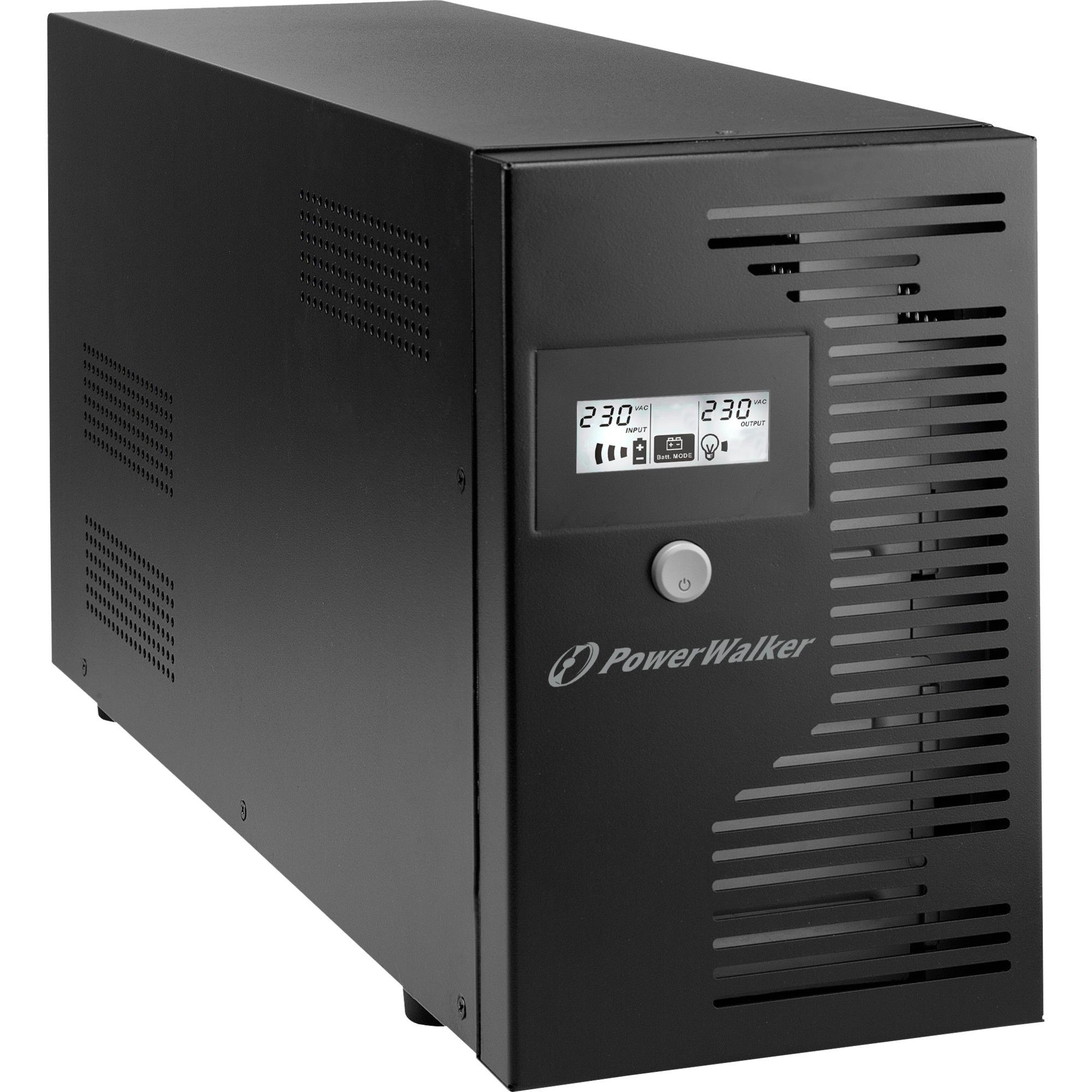10121020 Línea interactiva 3000VA 4salidas AC Torre Negro sistema de alimentación ininterrumpida (UPS)
